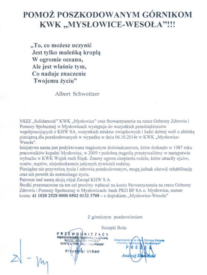 Apel Mysłowice-Wesoła