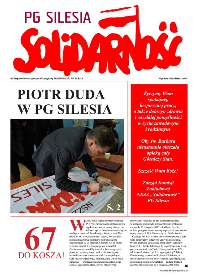 biuletyn-informacyjno-publicystyczny-solidarnosc-pg-silesia-wydanie-i-grudzien-2016